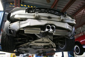 Track Boxster, exhaust upgrade